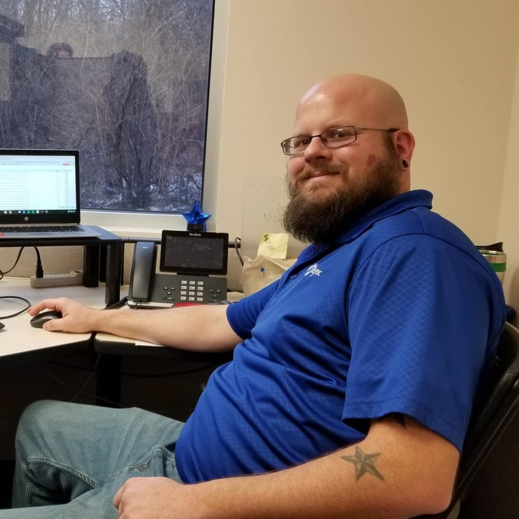 alex hall is uplync communications lead install technician