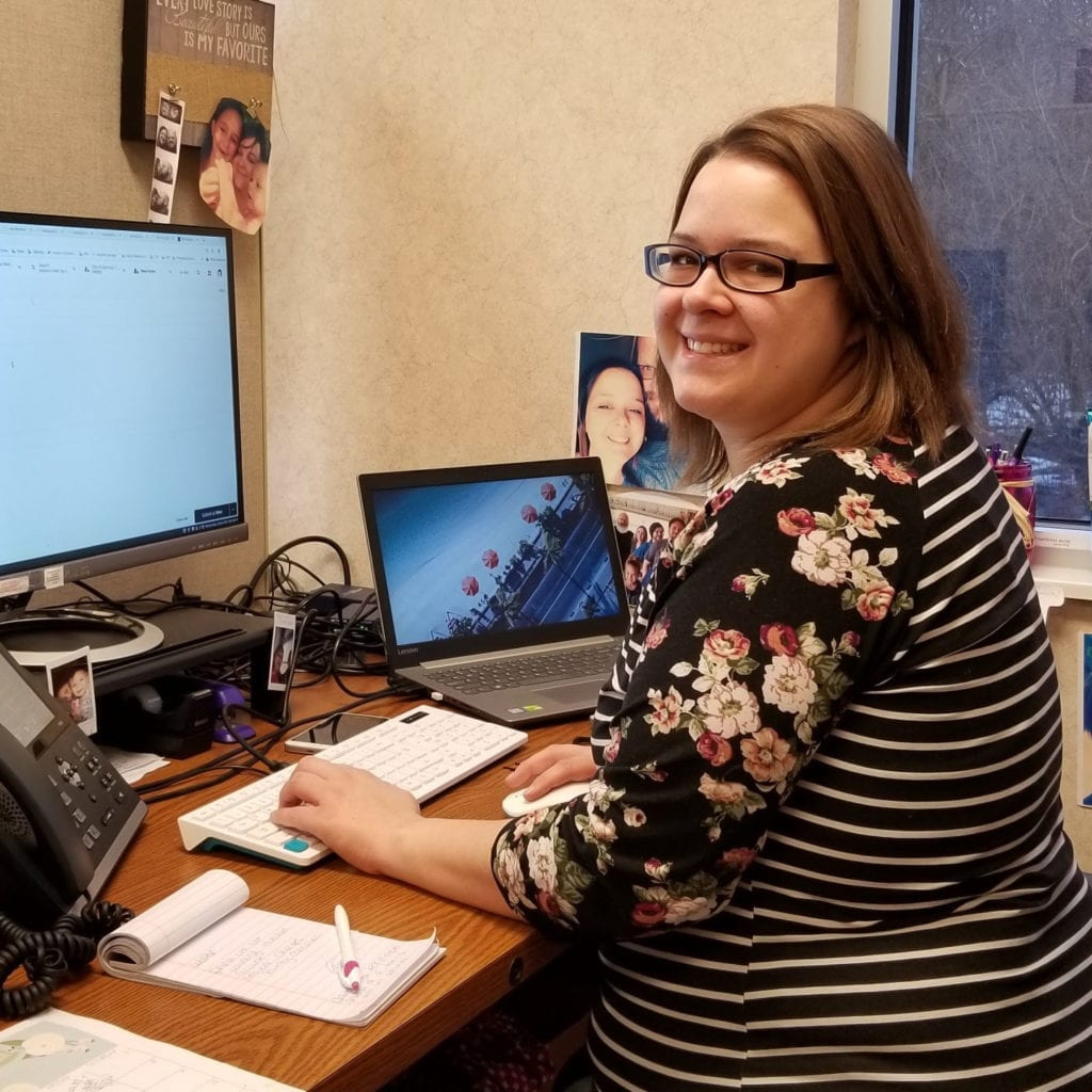 sarina terry is uplync communications technical support representative