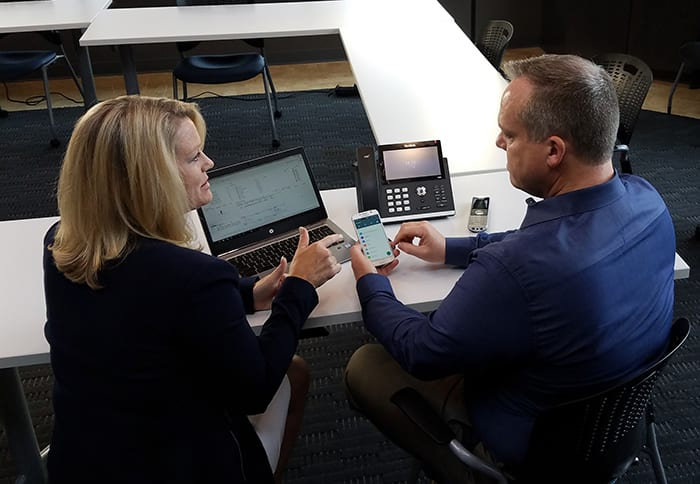 uplync helps with installing voip phone systems