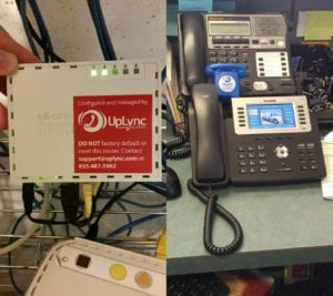 new voip phones installed