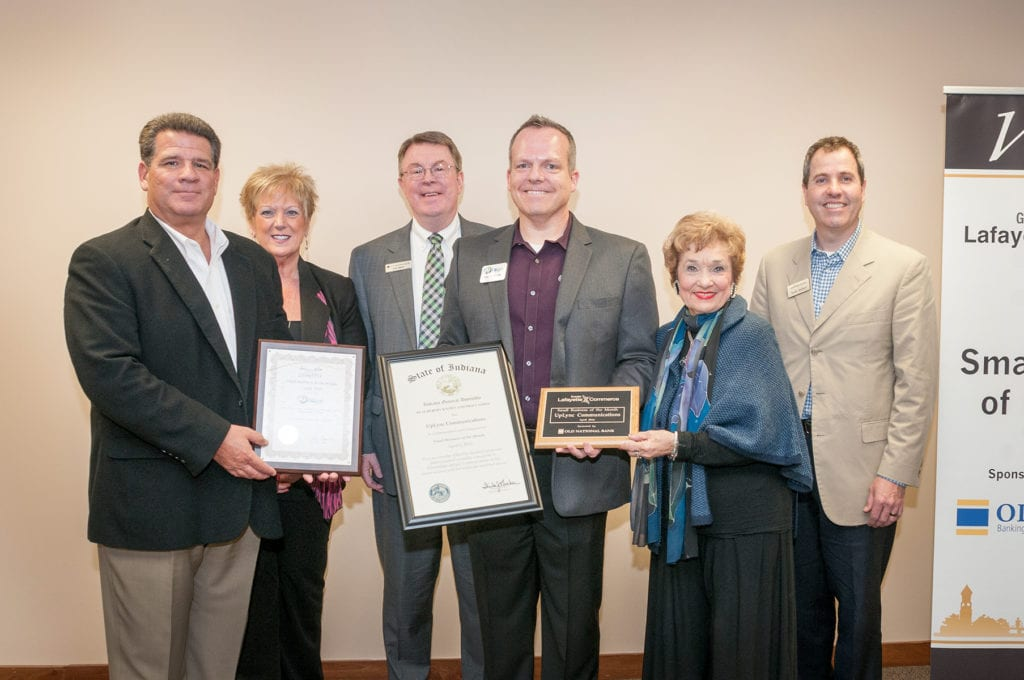 Uplync in Lafayette, IN receives an award